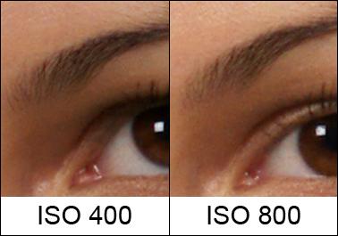 ISO 400 vs 800